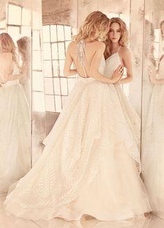 2015, amazing, beautiful, bride, fall, girl, mirror, princess, wedding, wedding dress, white, the big day, hayley paige dress, 6550-behati