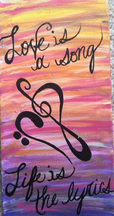 My music painting.