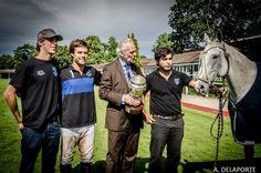 #Briston rewarded Facundo Fernandez Llorente for the Best Playing Polo Pony at the 120th #OpenDeParis #Maserati. ©Antoine Delaporte