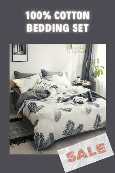 A carefully designed and perfectly made 100% Cotton Bedding Sets