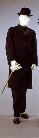 Suit, 1900-1910 --- so probably a little outdated for 1912, though could be worn secondhand by someone of low income.