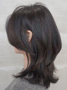 Korean Short Hair, Short Straight Hair, Short Hair With Bangs, Short Hair With Layers, Short Curly Hair, Short Hair Cuts, Korean Medium Hair, Straight Across Bangs, Haircuts For Medium Hair