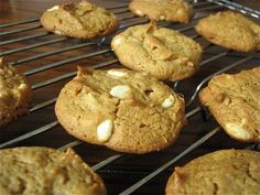 Flourless White Chocolate Peanut Butter Cookies