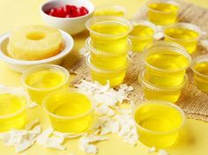 Put a tropical twist on your Jell-O shots.