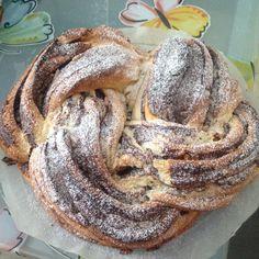 Treccia Nutella e Pinoli - Powered by I Companion, Nutella, Biscotti, Pancakes, Bread, Breakfast, Food, Cooking, Home