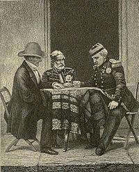 The Crimean War (pronounced /kraɪˈmiːən/ or /krɨˈmiːən/) (October 1853 – February 1856)[7][8] was a conflict between the Russian Empire and an alliance of the French Empire, the British Empire, the Ottoman Empire, and the Kingdom of Sardinia.