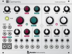 elements - Concrete sounds for abstract music, abstract sounds for musique concrète http://mutable-instruments.net/modules/elements
