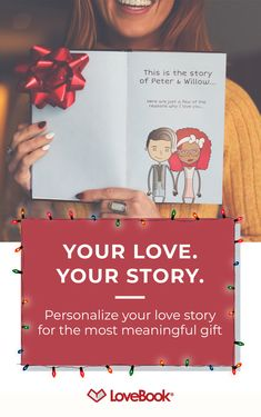 No doubt he knows you love him, but does he know all the little reasons why? Tug on his heartstrings with Lovebook, and create a story entirely unique to you. Your perfect Christmas gift awaits at personalizedchristmasgifts Perfect Christmas Gifts, Cute Gifts, Holiday Gifts, Christmas Crafts, Homemade Gifts, Diy Gifts, Creative Gifts, Unique Gifts, Personalized Christmas Gifts