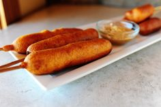 Classic Corn Dogs and Cheese-on-a-Stick