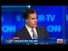 Mitt Romney In GOP Debate: Shut Down Federal Disaster Agency, Send Responsibility To The States