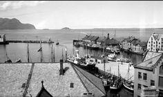 Møre og Romsdal fylke Aalesund Skateflukaia og Skansekaia 1930-tallet Utg Mittet