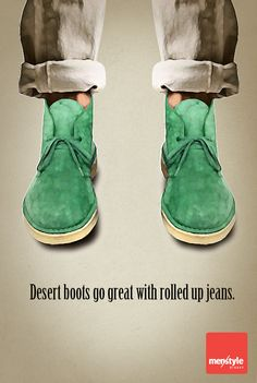 Desert boots. The proof that comfort and style can coexist.