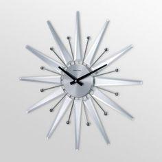 Cool starburst clock