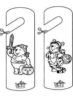 halloween door coloring pages - photo#7