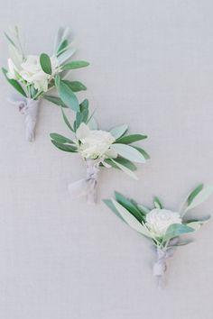 A romantic wedding in Santorini Island Santorini Island, Santorini Wedding, White Ribbon, Elegant Wedding, Lilac, Wedding Planner, Romantic, Floral, Boutonnieres