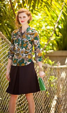 Pretty Fall blouse