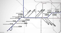 London Underground map reveals how much it is to rent one-bedroom flat at each stop   Daily Mail Online