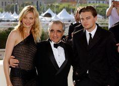 Pin for Later: Retour Sur les Meilleures Photos du Festival de Cannes Depuis Sa Création  Martin Scorsese, Cameron Diaz, et Leonardo DiCaprio en 2002.