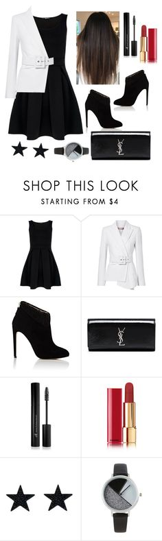 """Formal Party Outfit !!!"" by andrea27lobo ❤ liked on Polyvore featuring Michael Kors, Chloe Gosselin, Yves Saint Laurent, Forever 21, Chanel and BKE"