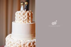 wedding cake // wedding topper // barbara   paul | wedding | brooklyn new york | the green building