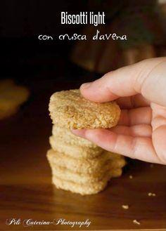 Semplicemente Light: Biscotti light con crusca d'avena,ricetta senza burro