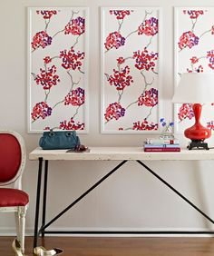 20 Genius DIY Uses For Leftover Wallpaper Scraps -