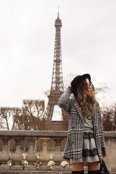 FashionCoolture - 22.02.2016 look du jour Paris Eiffel Tower Slywear lace skirt (5)