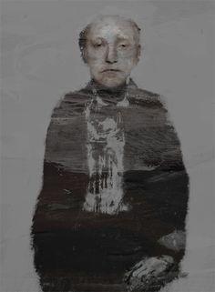 "Saatchi Online Artist: Aleck Chekini; Acrylic, Painting ""Joseph Brodsky"""