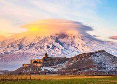 Khor Virap Monastery, Armenia. Places to live under $1000 a month! Grenada, Bolivia, Nicaragua, Montenegro