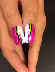 Lines by Nailexpert91 - Nail Art Gallery nailartgallery.nailsmag.com by Nails Magazine www.nailsmag.com #nailart