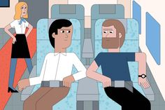 How to Win the Airplane Armrest Battle Once and For All | GQ