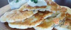 Recept Langoše bez kynutí ze zakysané smetany Pancakes, Pizza, Breakfast, Food, Morning Coffee, Essen, Pancake, Meals, Yemek