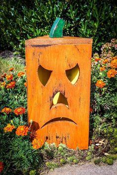 Picture of Rustic Pumpkin Lantern