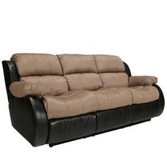 New Couch with two recliners for our bedroom! Coming home tomorrow! Yipppppeeeee!