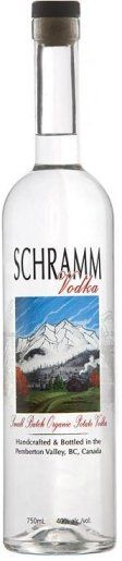 Schramm Organic Vodka from potatoes
