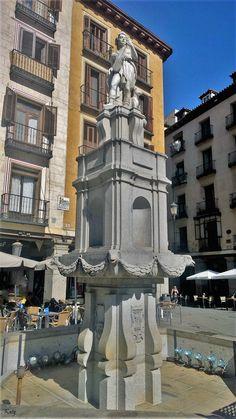 Fuente de la Plaza de la Provincia. Madrid