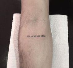 - Thinks Tatto Quote Tattoos Girls, Mom Tattoos, Forearm Tattoos, Body Art Tattoos, Tattoos For Guys, Tatoos, Mom Tattoo Quotes, Tattoo Mom, Faith Tattoos