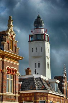 Harlingen Lighthouse, Netherlands by lucy
