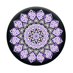 Peace Mandala Purple