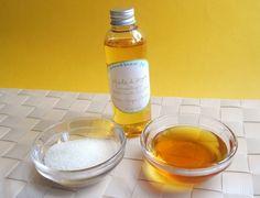 Recette de gommage naturel : huile d'argan, miel et sucre !