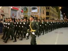 Chinese army in 2015 Moscow military parade rehearsal - YouTube