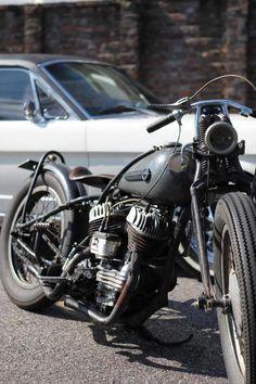 Harley-Davidson Flat Head | repinned by www.BlickeDeeler.de