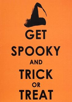 Get spooky and trick or treat #halloween