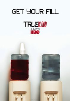 """TV072. """"True Blood"""" / Promo III Issue Tv Movie Poster (XXII) by Ignition Print (2010)"""