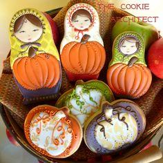 Pumpkin Matryoshka | The Cookie Architect