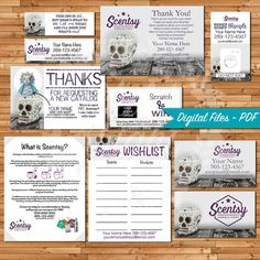 101 best authorized scentsy vendor scentsy business cards images authorized scentsy vendor bundle independent consultant cards custom business cards skull calvera print your own on vistaprint colourmoves