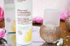 creme-nutrition-intense-serum-nuit-fleur-immortelle-fleurance-nature-makeupbyazadig-revue-prix-avis-peau-seche