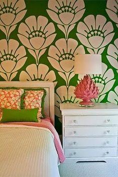 Green wall    #wall #design #interior