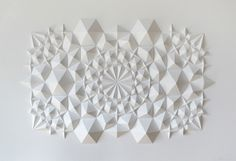 Matthew Shlian - Geometric Paper Art
