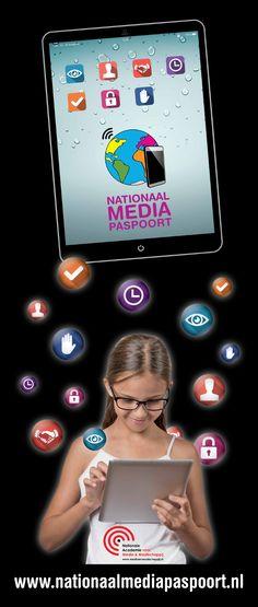 Nationaal Mediapaspoort. Gratis lesmateriaal voor groep 1 t/m 5 en binnenkort voor alle groepen van het basisonderwijs